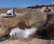 Dewatering 760,000 Litres per Hour for Environmental release